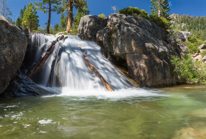 Shirley Canyon cascade