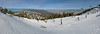 Heavenly Valley looking north, Lake Tahoe left, Carson Valley right (best viewed in x3)