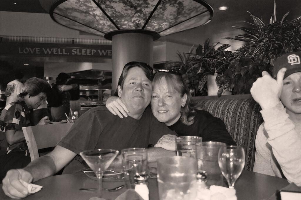Steve & Sharon at Harrah's Lake Tahoe