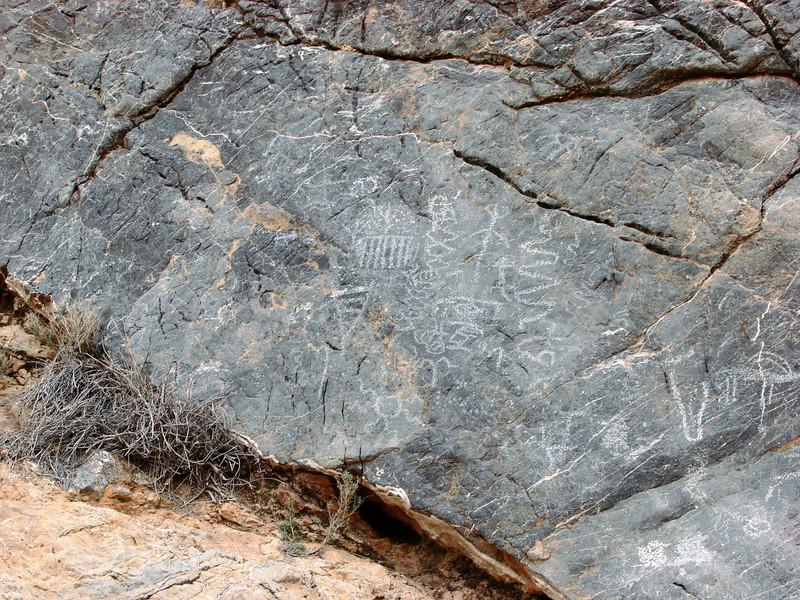 Petroglyphs - Titus Canyon