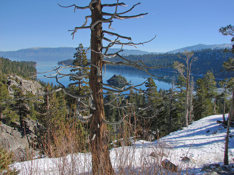 Emarald Bay from Eagle Falls, Lake Tahoe