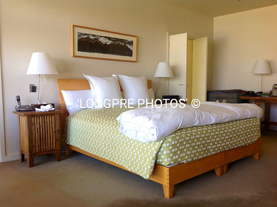 Bedroom at 'WHARE KEA LODGE