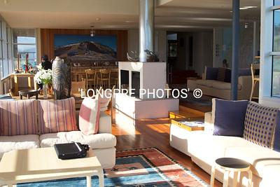 Living room, WHARE KEA LODGE
