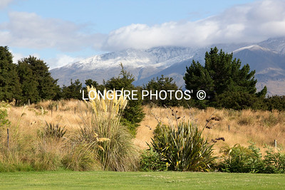 View from WHARE KEA LODGE grounds...north to Mt. Aspiring.