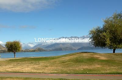 LAKE WANAKA lake view from town.