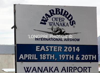 WANAKA Airport.  'Warbirds over Wanaka'.