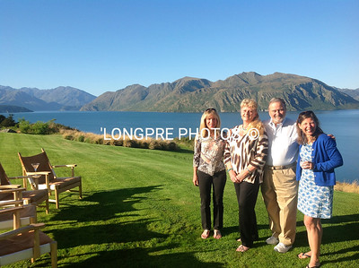 Group of BYC friends at LAKE WANAKA,NZ