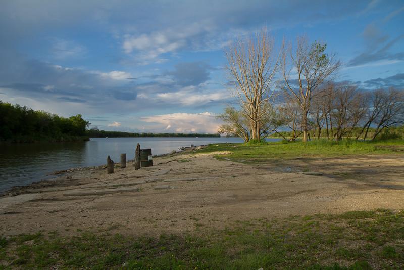 Junction of Netley Creek & Red River