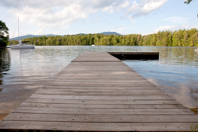 Lake Winnipesaukee Dock, Moultonboro New Hampshire
