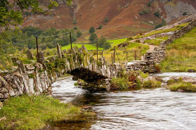 Ancient Stone Bridge, Lake District, England