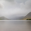 Landscape - Lake District, England; during the rain-storm