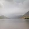 Landscape - Lake District, England; during the rain-storm