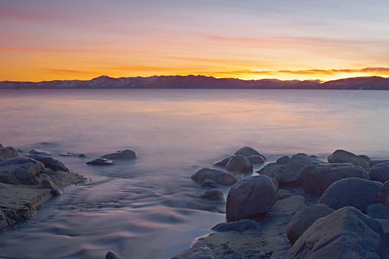 Lake Tahoe at Third Creek