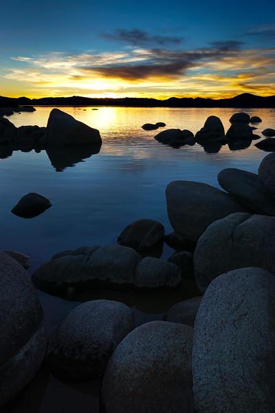 Sunset at Tahoe