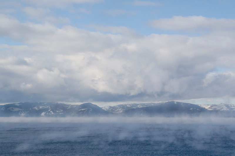 Fog Over Lake Tahoe