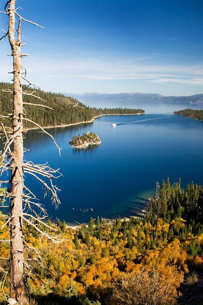 Autumn Comes to Emerald Bay