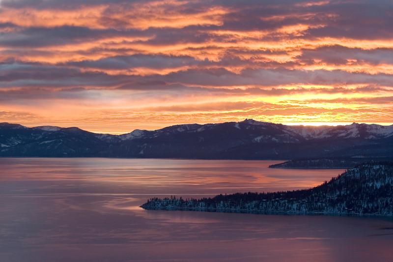 Tahoe Sunset_Winter