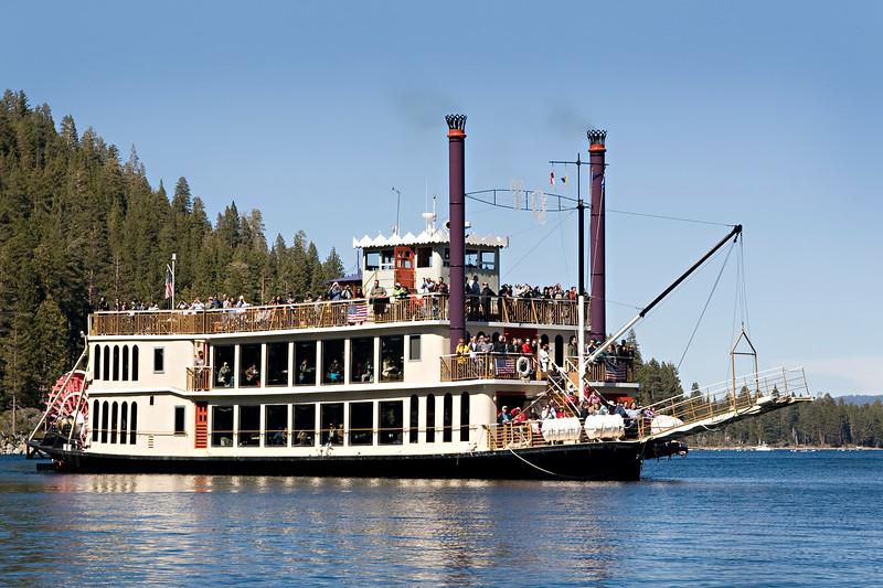 Tahoe Queen at Emerald Bay
