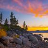 October Sunset at Lake Tahoe