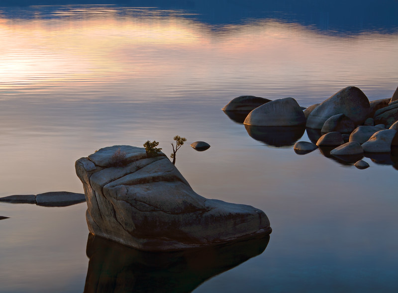 Bonsai Rock at Sunset