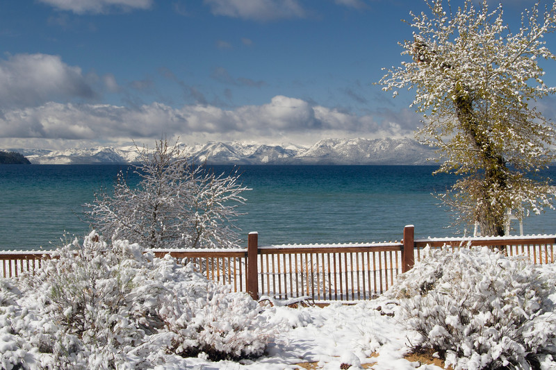 Spring Snow at Sand Harbor ll