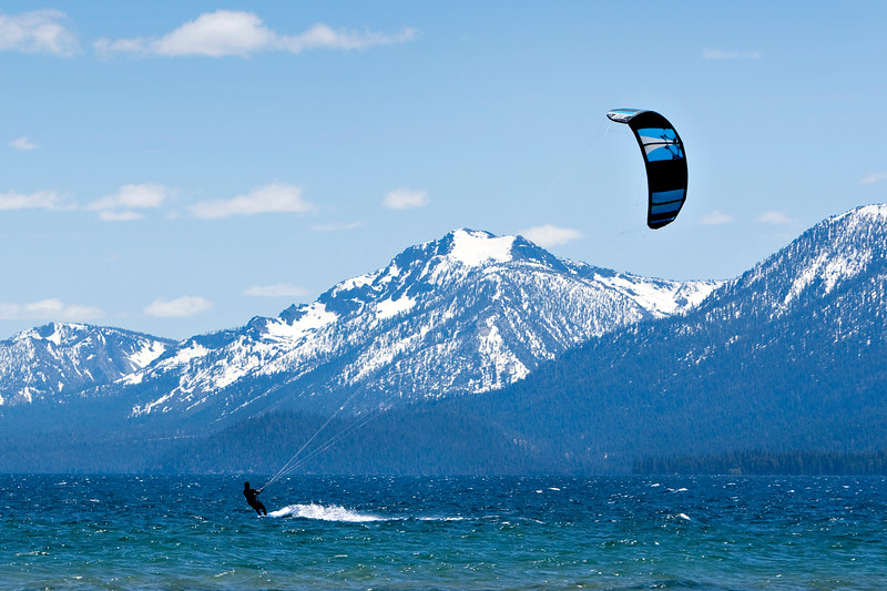 Parasail on Tahoe