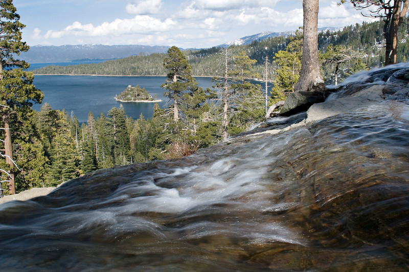 Emerald Bay from Eagle Falls