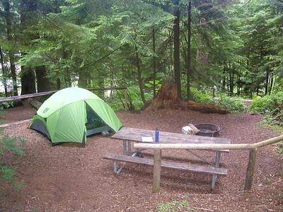 Lake Sylvia State Park - July 20-22, 2012