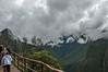 Entering Machu Picchu