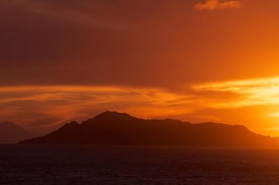 Diamond Head at Sunset