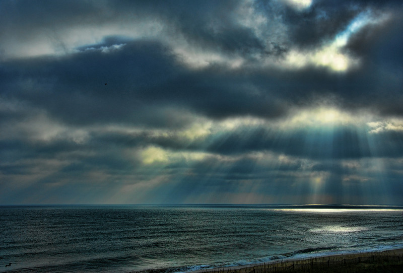 Breaking Through .  Nags Head, North Carolina