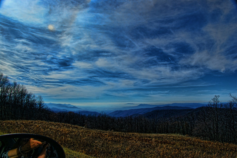 Blue Ridge Sky.  North Carolina