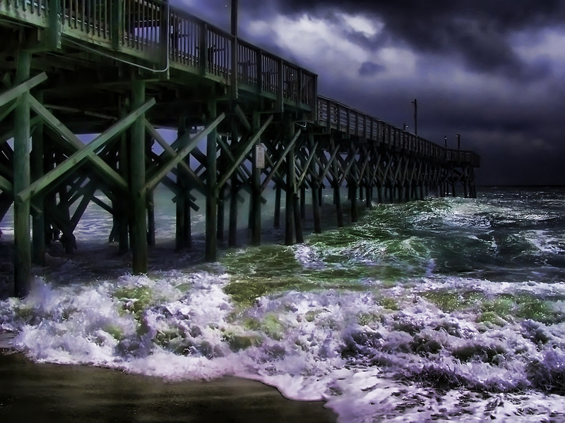Storm. Myrtle Beach, South Carolina