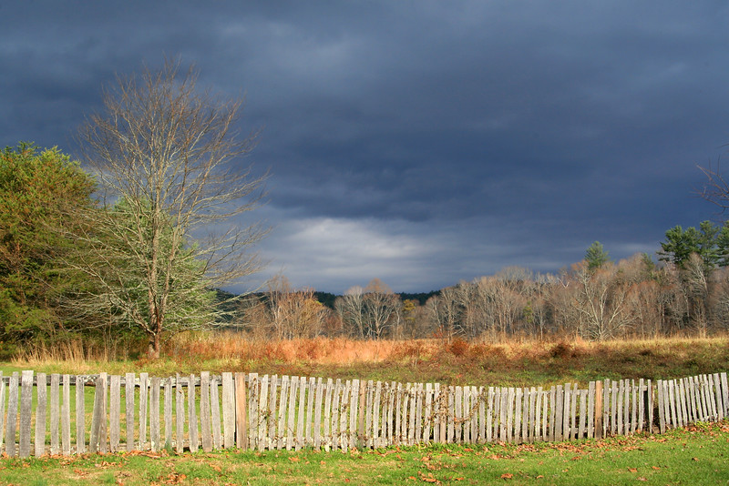 Approaching Storm at Cades Cove, Tennessee