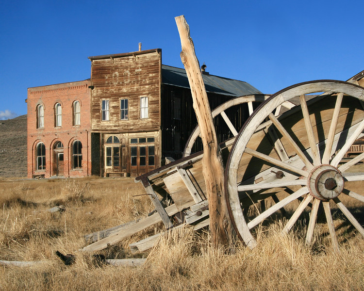 Ghosts of Bodie, California