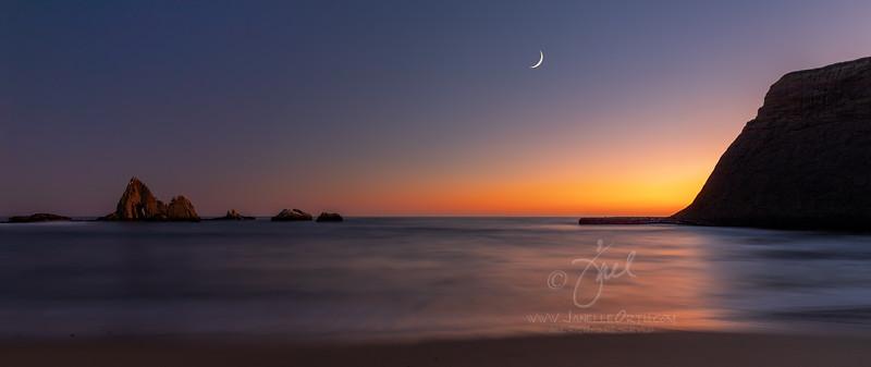 Martin's Beach Pano  ©2020 Janelle Orth