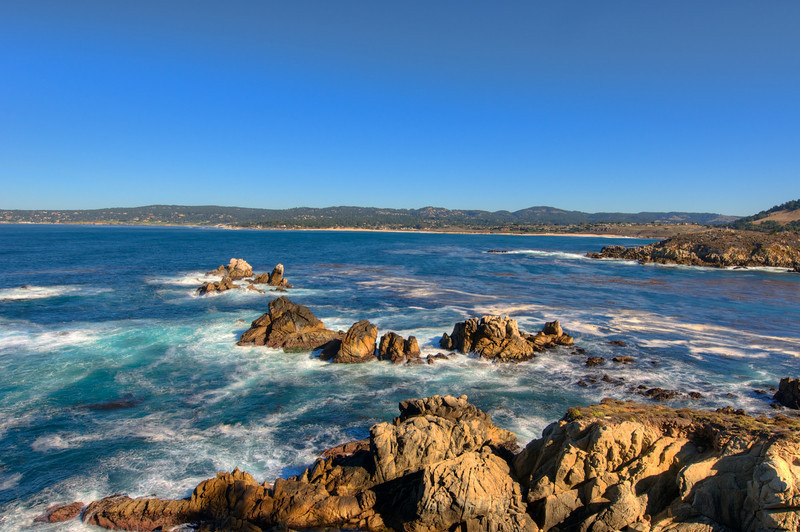 View from Point Lobos.  South of Carmel