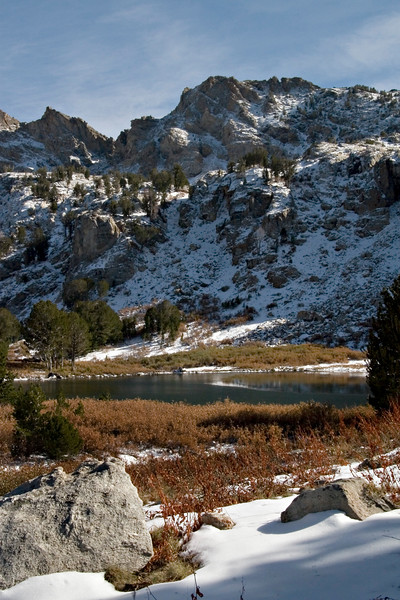 Small Alpine Lake at Lamoille Canyon, NV