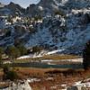 Small Alpine Lake at Lamoille Canyon, NV