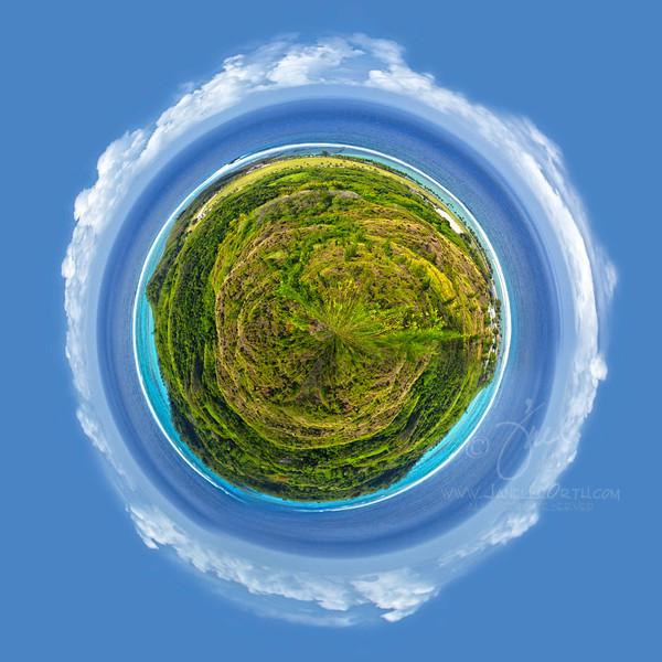 Guam Tiny Planet  ©2016  Janelle Orth