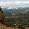 Sierra Nevada Mountains from Geiger Grade