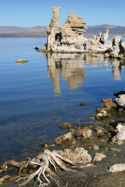 Tufas on Mono Lake, California