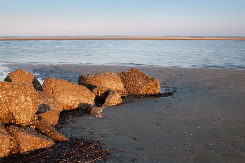 Beach at Sunset, Sullivans Island, SC