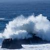 Breaking Surf near Santa Cruz