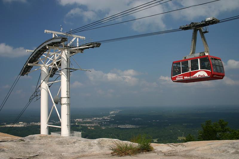 Cable Car, Stone Mountain, Georgia