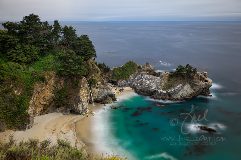 McWay Falls  ©2020  Janelle Orth