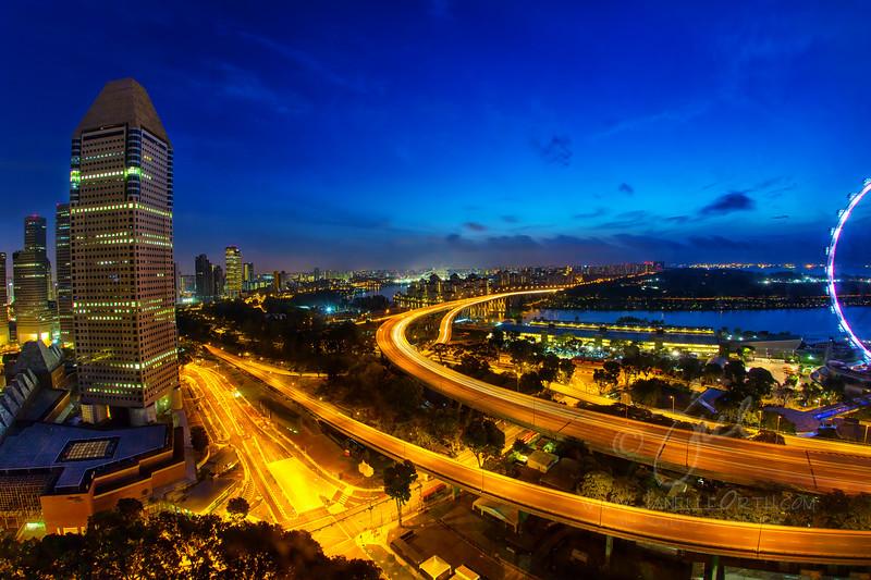 Singapore Dawn ©2013 Janelle Orth