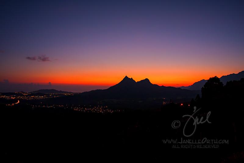 Olomana Sunrise  ©2017  Janelle Orth