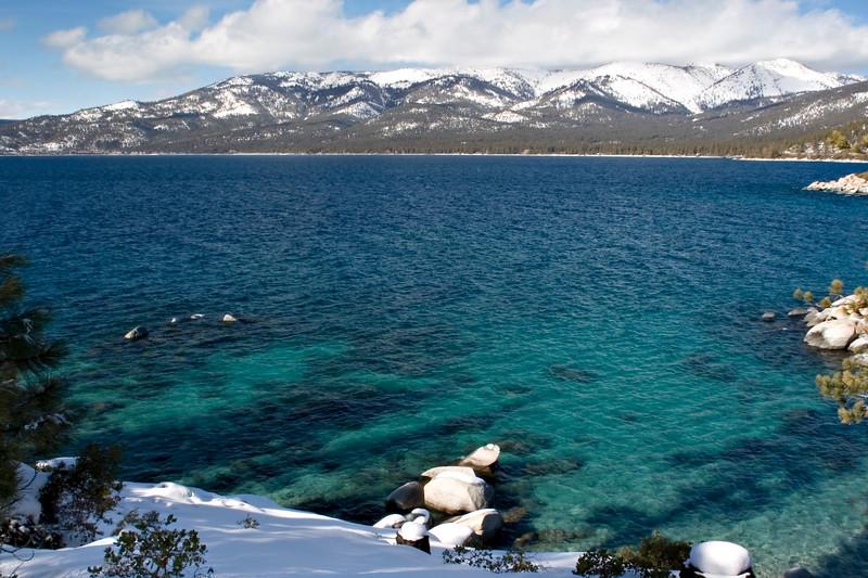 Lake Tahoe in Winter (1 of 3)