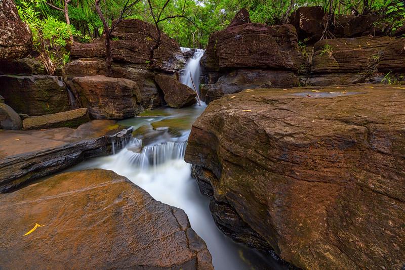 Upper Tarzan Falls 2  ©2015  Janelle Orth